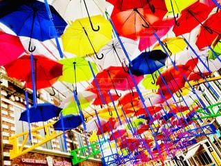 雨,傘,カラフル,鮮やか,梅雨,カサ