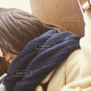 冬とブルーと私。の写真・画像素材[2245557]