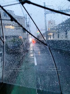 雨,傘,rain,ビニール傘,umbrella