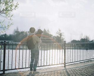 愛しい背中の写真・画像素材[2209958]