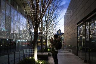 屋外,イルミネーション,リフレクション,グランフロント大阪,うめきた広場,シャンパンゴールド