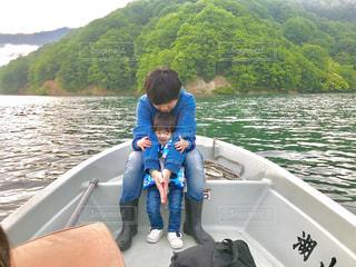 湖,親子,釣り,パパ,大好き,父,父の日,感謝,ハグ