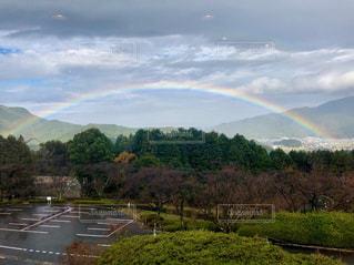 虹,曇り,雨上がり,天気,雨の日