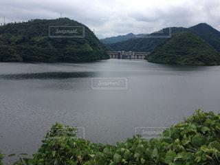 ダム湖の写真・画像素材[2210932]