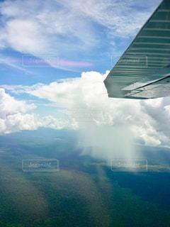 雨,飛行機,梅雨,天気,機内,雨の日
