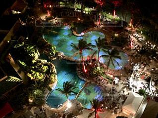 ハワイの夜の写真・画像素材[2421141]