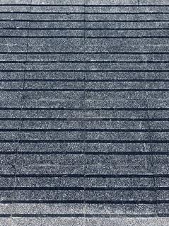 横縞テクスチャー ブルーグレーの写真・画像素材[2185552]