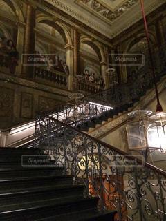 高貴な階段の写真・画像素材[2185529]