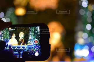 携帯電話の画面の写真・画像素材[2287845]