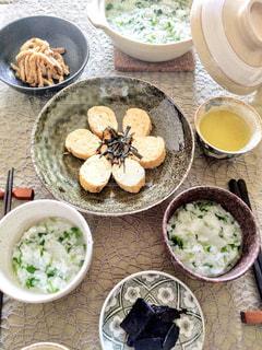 七草粥の写真・画像素材[2393175]