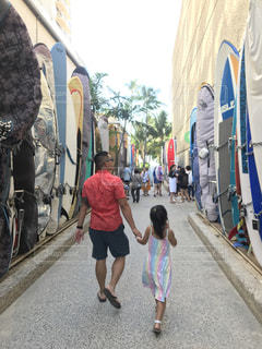 ビーチへ散歩の写真・画像素材[2260012]