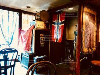 異国感溢れるカフェの写真・画像素材[2252876]