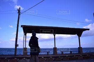 海,空,屋外,雲,青空,青,旅行,おでかけ