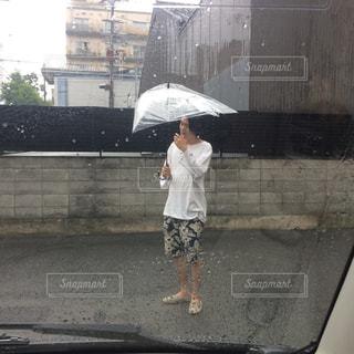 雨,傘,屋外,梅雨