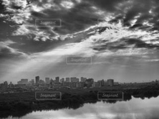 街並みと空の写真・画像素材[2412419]