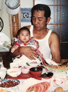 父の日のおじいちゃんの写真・画像素材[2212595]