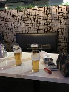 グラス,ビール,外食,乾杯,飲み会,ドリンク,消える,誰もいない,おわり