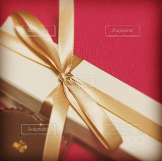 チョコレートギフトボックスの写真・画像素材[2978429]