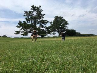 空,子供,樹木,イベント,運動,レジャー,男の子,遊び場,父の日,6月16日