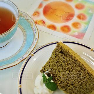 シフォンケーキの美味しいお店での写真・画像素材[2254283]