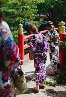 衣装を着た女性たちの写真・画像素材[3568372]