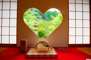 京都,アート,景色,ハート,壁,癒し,和室,日本,お出かけ,フォトジェニック,壁アート,インスタ映え