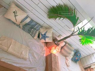 海の近くのおしゃれカフェの写真・画像素材[2252015]