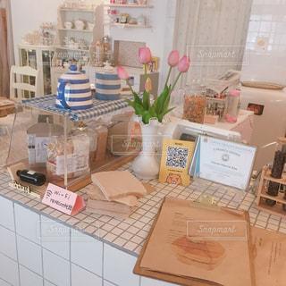 お気に入りナンバーワンの韓国カフェの写真・画像素材[2257157]