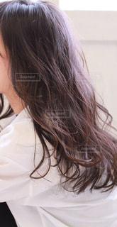 女性のヘアスタイルの写真・画像素材[2282303]