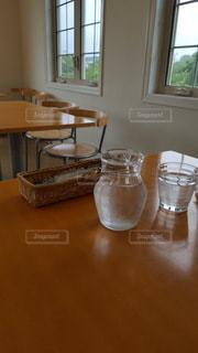 お洒落なカフェにて。の写真・画像素材[2269812]