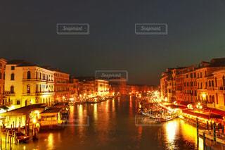 リアルト 橋からの夜景の写真・画像素材[2716963]