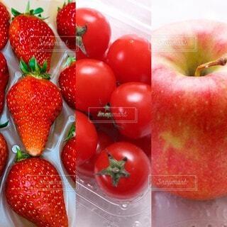 食べ物,風景,いちご,フルーツ,果物,トマト,野菜,皿,食品,赤い,スーパーフード,食材,フレッシュ,ベジタブル,イチゴ,リンゴ,ダイエット食品,配置,自然食品,赤い食べ物,種なしの果実