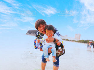 海,親子,景色,笑顔,日本,japan,パパ,男の子,息子,父,ありがとう,白浜,父の日,感謝,父ちゃん,6月16日