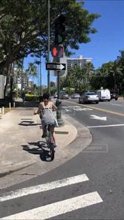 空,自転車,太陽,晴れ,散歩,サイクリング,レジャー,快晴,お散歩,おでかけ,sun
