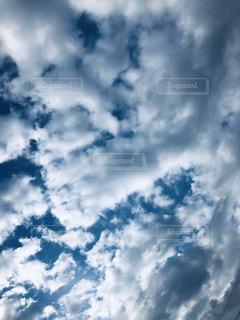 空,雲,お散歩,天気は晴れ