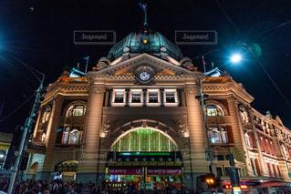Flinders Stationの写真・画像素材[2716479]