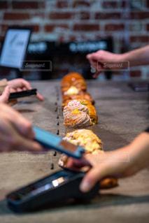 Croissantの写真・画像素材[2734363]