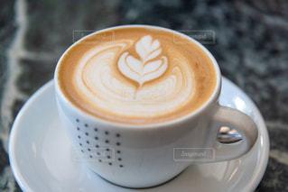 コーヒーカップのクローズアップの写真・画像素材[2918723]