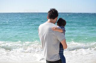 海,夏,砂浜,イベント,男の子,息子,和歌山,白良浜,ありがとう,父の日,6月16日