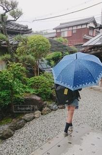 傘,後ろ姿,水,雫,雨の日