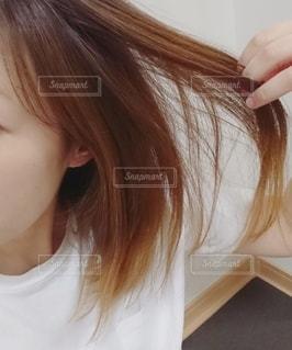 サラサラ髪の写真・画像素材[2289760]