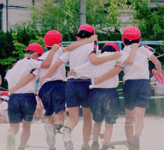 小学校の運動会の写真・画像素材[2488500]