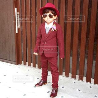 スーツを着た子供の写真・画像素材[3061522]