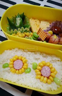小学生の女の子向けのお弁当の写真・画像素材[3122934]
