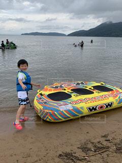 湖にての写真・画像素材[4405899]