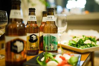 クラフトビールのある週末の写真・画像素材[2819478]