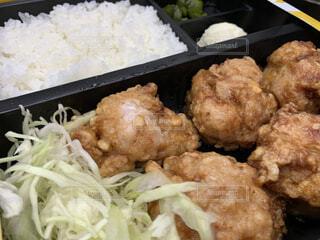 食べ物,飲み物,肉,米,料理,チキン,からあげ,出前,宅配,テイクアウト,白米,揚げ,からあげ弁当,デリバリー,お持ち帰り