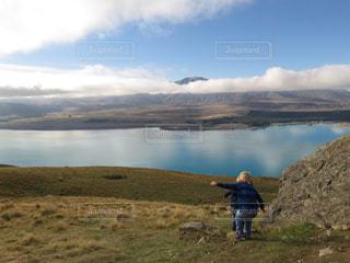 大自然の湖の写真・画像素材[2204662]