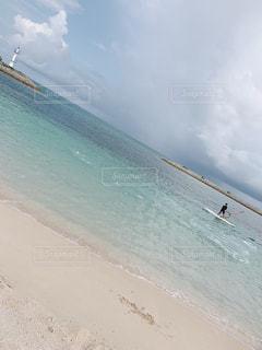 風景,海,屋外,ビーチ,海辺,水面,海岸,沖縄,景色,旅行