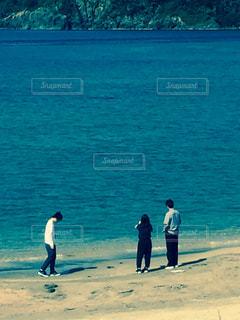 家族,海,父と子,鳥取県,感謝です